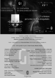 Fin de semana para disfrutar de las últimas actividades de  'Primavera Encuentada'  y del certamen 'Guadalajara, en negro'