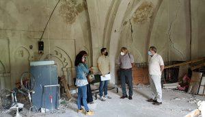 Firmado el contrato para la restauración de la antigua iglesia de San Simón, futuro Centro de Innovación Rural de Brihuega