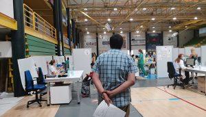 Habrá cambio de cita para los ciudadanos citados para ser vacunados en segunda dosis de Moderna en Guadalajara