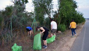 JJSS de Tarancón recoge 100 kg de basura en su I Batida de Limpieza