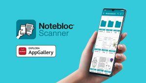 La App Notebloc Scanner, reconocida como mejor startup europea de educación en Impact EdTech, ya está disponible en AppGallery
