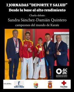 La Asociacion de Clubes Deportivos de Cuenca inicia unas jornadas ligadas al deporte base y salud con tres referencias mundiales del kárate