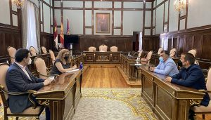 La Asociación de Empresarios de Servicios de la Actividad Física y el Deporte de Guadalajara mantiene su primera reunión de trabajo con la Diputación provincial