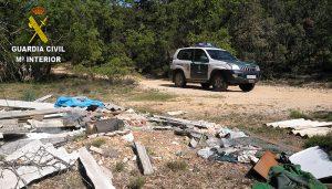 La denuncia de unos ciudadanos acaba con una empresa de Alcalá que tiraba los residuos peligrosos en Guadalajara