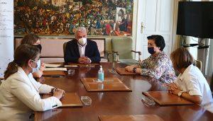 La Diputación de Guadalajara firma tres convenios con Cruz Roja y Cáritas Diocesana