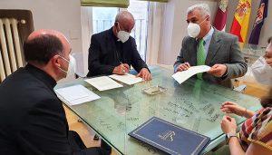 La Diputación de Guadalajara y el Obispado firman convenios para restauración y promoción de patrimonio artístico