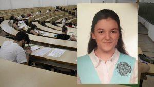 La nota más alta de la EvAU en la UCLM es Alicia Ruiz Romero y se quedará en esta universidad para estudiar Fisioterapia