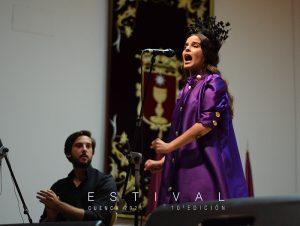 La rumba y el embrujo marcan el paso de Ángeles Toledano por Estival Cuenca