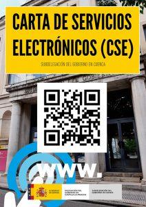 La Subdelegación del Gobierno en Cuenca ya dispone de Carta de Servicios Electrónicos para trámites administrativos