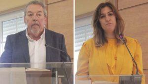 """Los concejales de Cabanillas Almudena Sanz y José Manuel Fernández abandonan """"Ciudadanos"""" y pasan a ser ediles no adscritos"""