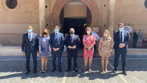 Los concejales del Grupo Popular en el Ayuntamiento de Guadalajara asisten a la misa del Corpus Christi