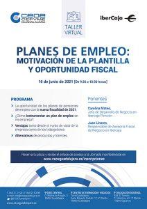 Los planes de empleo y la motivación de la plantilla centrarán un nuevo webinar de CEOE-Cepyme Guadalajara