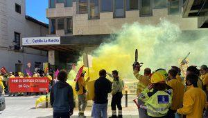 """Los sindicatos aseguran que Geacam niega ante el Jurado Arbitral cualquier """"posibilidad de acuerdo"""" y fuerza la convocatoria de huelgas en plena campaña de incendios"""