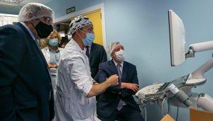 Page conoce los últimos avances tecnológicos adquiridos para el Hospital de Guadalajara y que supone una mejor prestación sanitaria para la ciudadanía