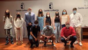 Robles felicita a los mejores expedientes de la EVAU en Guadalajara y destaca el gran potencial que tiene nuestro alumnado