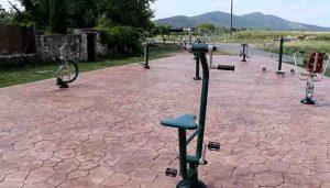 Tamajón cuenta con un nuevo parque para mayores