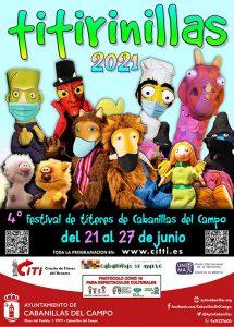 Titirinillas 2021 Del 21 al 27 de junio, 4º Festival de Títeres de Cabanillas