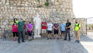 Valdearenas estrena el sello 200 del Camino del Cid con una ruta senderista iniciada en Hita