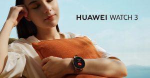 Huawei Watch 3 SERIES: los smartwatches más precisos para monitorizar tu estado físico