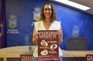Guadalajara organiza 'Guadapop', un ciclo de conciertos que trae a la ciudad a Nil Moliner, Blas Cantó y Ana Mena