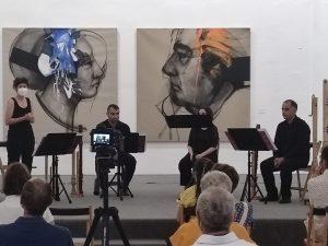 La sede conquense de la FAP ha acogido una actuación musical del grupo valenciano Piacere di Flauti