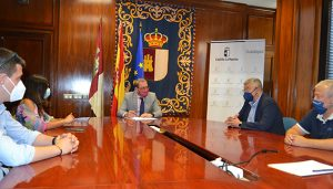 La Junta se reúne con BNI para conocer el trabajo de más de un centenar de empresas de Guadalajara
