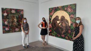 La Sala Iberia acoge ´Zootrofia´ de la artista conquense Paula Segarra hasta el próximo 29 de agosto
