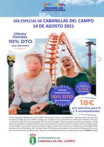 Jornadas de precio reducido en Aquópolis, Parque Warner y Parque de Atracciones, para empadronados en Cabanillas