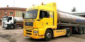 Guadalajara activa el Plan de Emergencias de Transporte de Mercancías Peligrosas