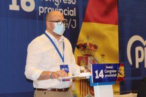 Lucas Castillo elegido presidente del Partido Popular de Guadalajara con el 93,98% de los votos de los compromisarios