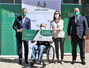COCEMFE Albacete, premiada con una 'Ayuda Social' de Fundación Eurocaja Rural