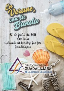 Concierto de la Banda de Música de la Diputación de Guadalajara el jueves 22 en la explanada del San José (Guadalajara capital)