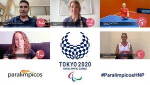 Deportistas paralímpicos que se iniciaron en el Hospital Nacional de Parapléjicos lanzan un potente mensaje para los pacientes antes de ir a Tokio 2020
