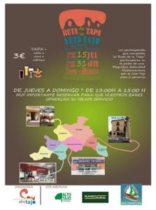 "El Alto Tajo se estrena con su primera ""Ruta de la Tapa"""