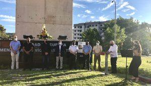 El Ayuntamiento de Cuenca recuerda a las víctimas del terrorismo en el aniversario del asesinato de Miguel Ángel Blanco