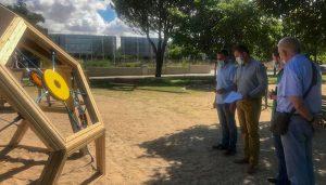 El Ayuntamiento de Guadalajara dota de nuevos juegos infantiles a los parques de La Olmeda y Bulevar Alto Tajo con una inversión de 50.000 euros