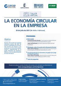 El departamento de Medio Ambiente de CEOE-Cepyme Guadalajara celebrará un webinar sobre la economía circular en la empresa