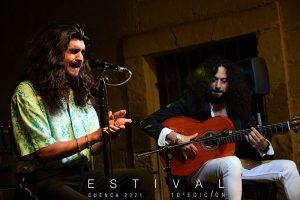 El flamenco de Israel Fernández provoca un choque de elementos Patrimonio de la Humanidad gracias a Estival Cuenca