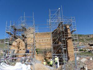 El Gobierno de España invierte 500.000 euros para asegurar la conservación del castillo de Villel de Mesa