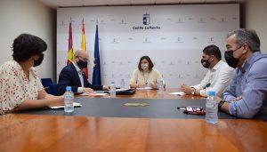 El Gobierno regional, CCOO y UGT trabajan de manera conjunta para devolver la actividad industrial a la planta de Siemens en Cuenca