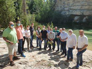El Gobierno regional destina cerca de 350.000 euros para mejoras en infraestructuras de uso público en el Parque Natural del Alto Tajo en 2021