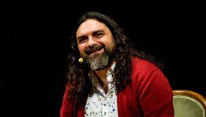 El narrador Pep Bruno participa en el Festival Atlántica contando por el camino de Santiago