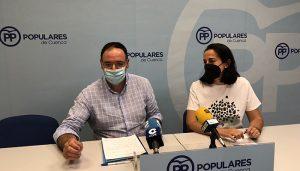 """El PP denuncia la """"involución de Cuenca"""" y recoge """"la necesidad de cambios de gobiernos que nos piden los ciudadanos"""""""