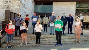 Entregados los diplomas a la primera promoción de evaluadores de accesibilidad cognitiva de Guadalajara