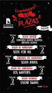Estas son sólo algunas de las cosas que puedes hacer y disfrutar este fin de semana en Guadalajara