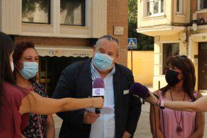 foto pp un momento de la rueda de prensa | Liberal de Castilla