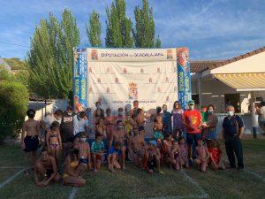 El Interpueblos de natación ha hecho escala este sábado en Pareja