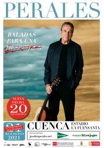 José Luis Perales arrasa en Cuenca y tocará un segundo día en La Fuensanta
