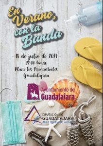 La Banda de Música de la Diputación de Guadalajara ofrecerá un concierto el domingo 18 en Los Manantiales