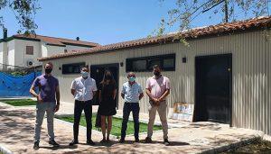 La Diputación de Cuenca y el Ayuntamiento de Campillo invierten 100.000 euros en los vestuarios de la piscina